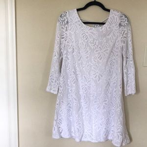White Lily Pulitzer Dress Size Medium